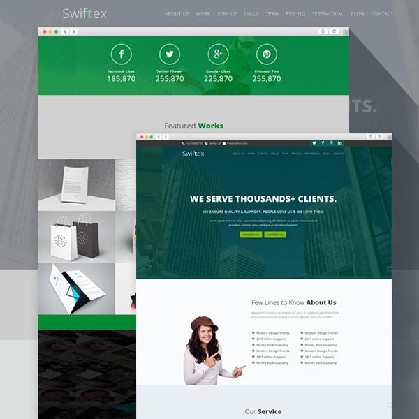 Swiftex - Multipurpose Responsive HTML5 Template | ThemEarth